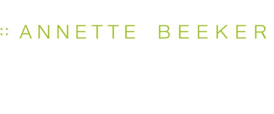 Print Design | Logo | Annette Beeker, München | Printvorlage und Webversion | Konzeption, Design und Druckabwicklung