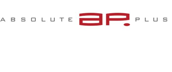 Print Design | Logo | absolute plus GmbH, München | Printvorlage und Webversion | Konzeption, Design und Druckabwicklung