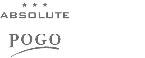 Print Design | Logo | Absolute Pogo | Modelabel, Ingolstadt | Printvorlage und Webversion | Redesign und Druckabwicklung