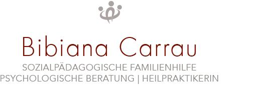 Print Design | Logo | Bibiana Carrau | Familienhilfe, München | Printvorlage und Webversion | Konzeption, Design und Druckabwicklung