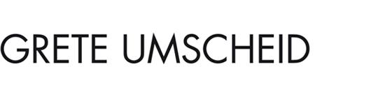 Print Design | Logo | Grete Umscheid | Architekturbüro, München | Printvorlage und Webversion | Konzeption, Design und Druckabwicklung