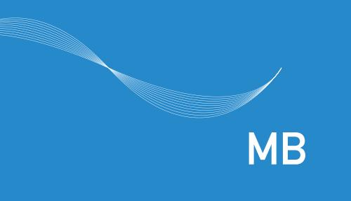 Print Design | Visitenkarte | MB Architektur | Architekturbüro, München | Konzeption, Design und Druckabwicklung