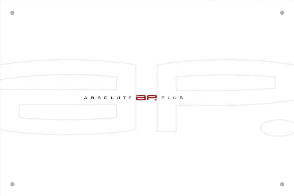 Print Design | Türschild | Absolute Plus GmbH, München | Design und Druckabwicklung