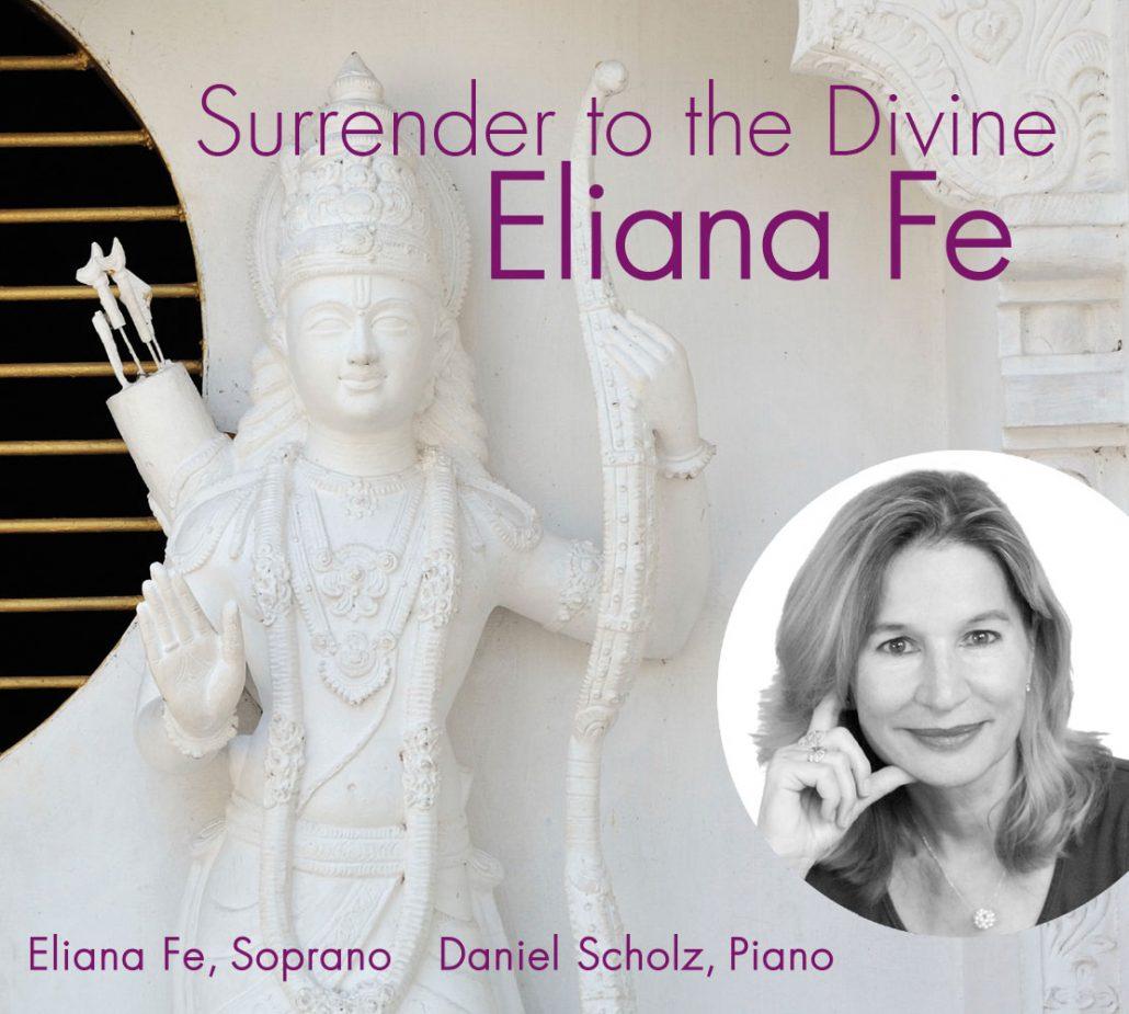 Print Design | CD Cover 'Surrender to the Divine ' | Eliana Fe, München | Design und Druckabwicklung
