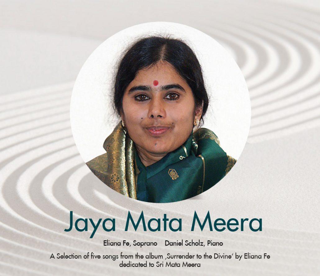 Print Design | CD Cover 'Jaya Mata Meera' | Eliana Fe, München | Design und Druckabwicklung