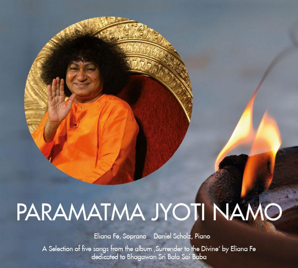 Print Design | CD Cover 'PARAMATMA JYOTI NAMO' | Eliana Fe, München | Design und Druckabwicklung