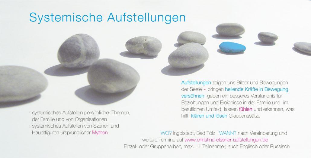 Print Design | Flyer | Christina Elssner, Ingolstadt | Design und Druckabwicklung