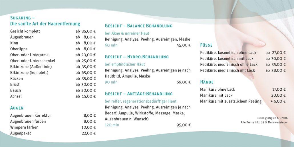 Print Design | Flyer | Gabrieli Apotheke, Eichstätt | Design und Druckabwicklung