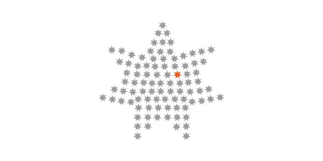 Print Design | Flyer | Weihnachtskarte | Vertical Network GmbH, München | Design und Druckabwicklung
