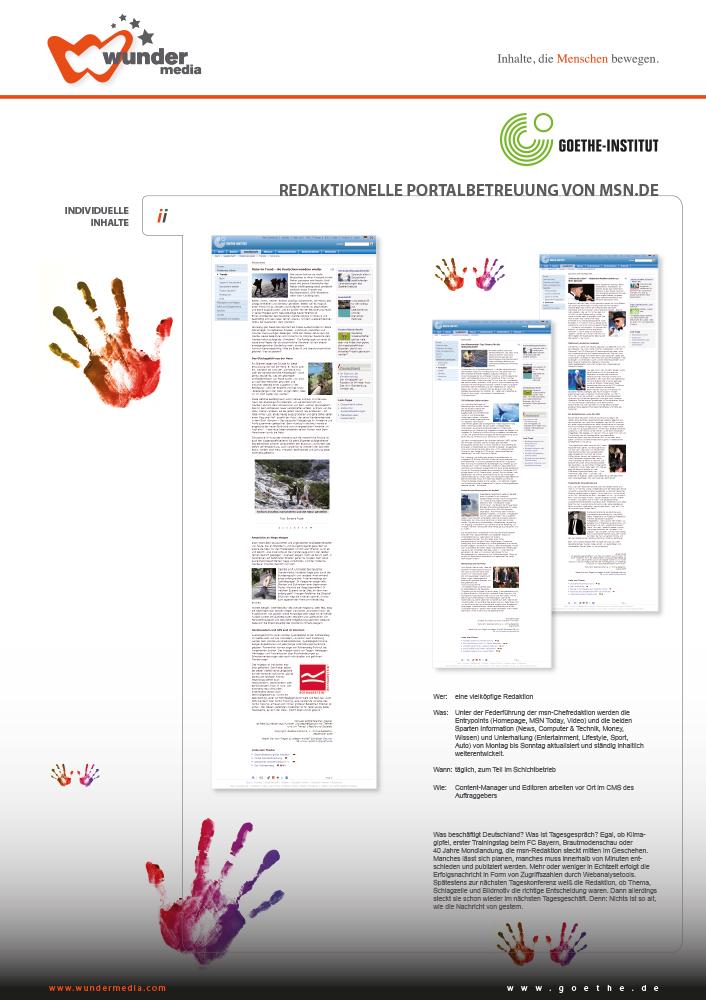 Print Design | Plakat | Wundermedia GmbH, München | Design und Druckabwicklung